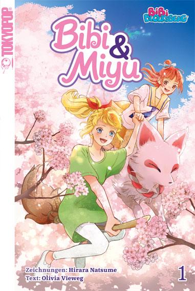bibi und miyu cover 01 Manga