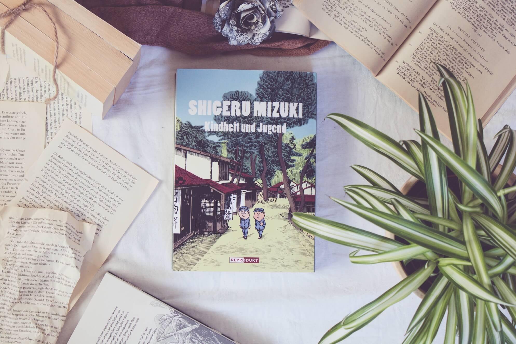 Shigeru Mizuki - Kindheit - und Jugend Rezension
