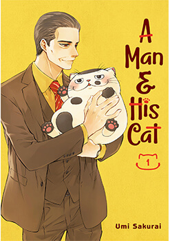 A Man and His Cat Cover1 Manga