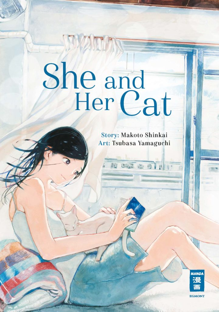 She and her cat cover1 Manga