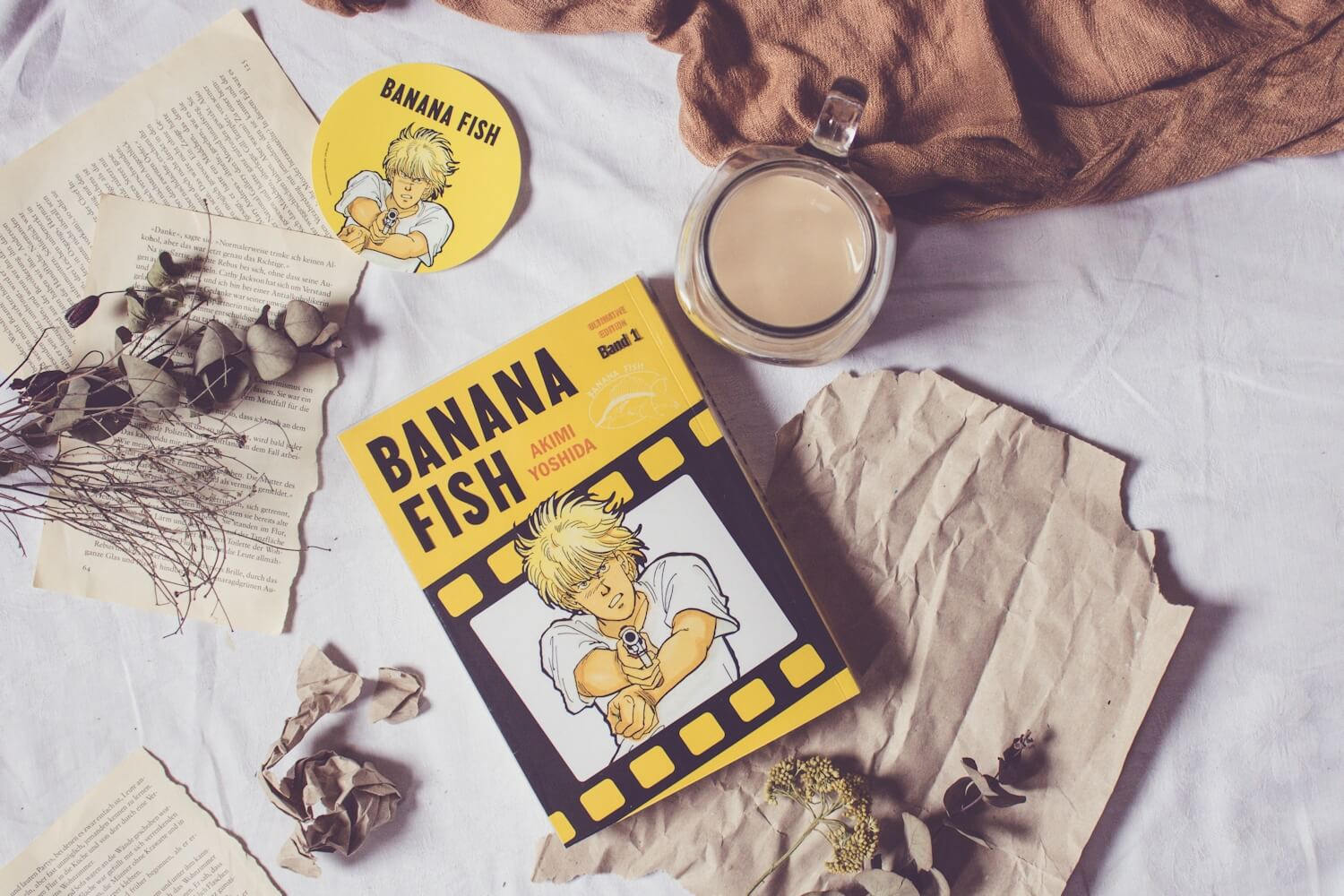 Banana Fish Band 1 - Rezension