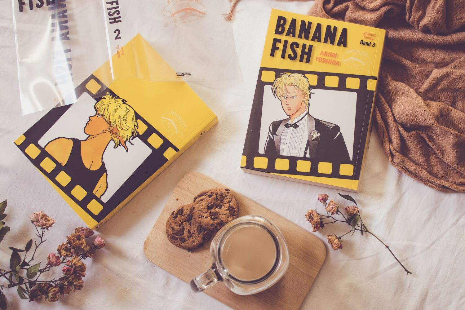Banana Fish Rezension Band 2 und 3