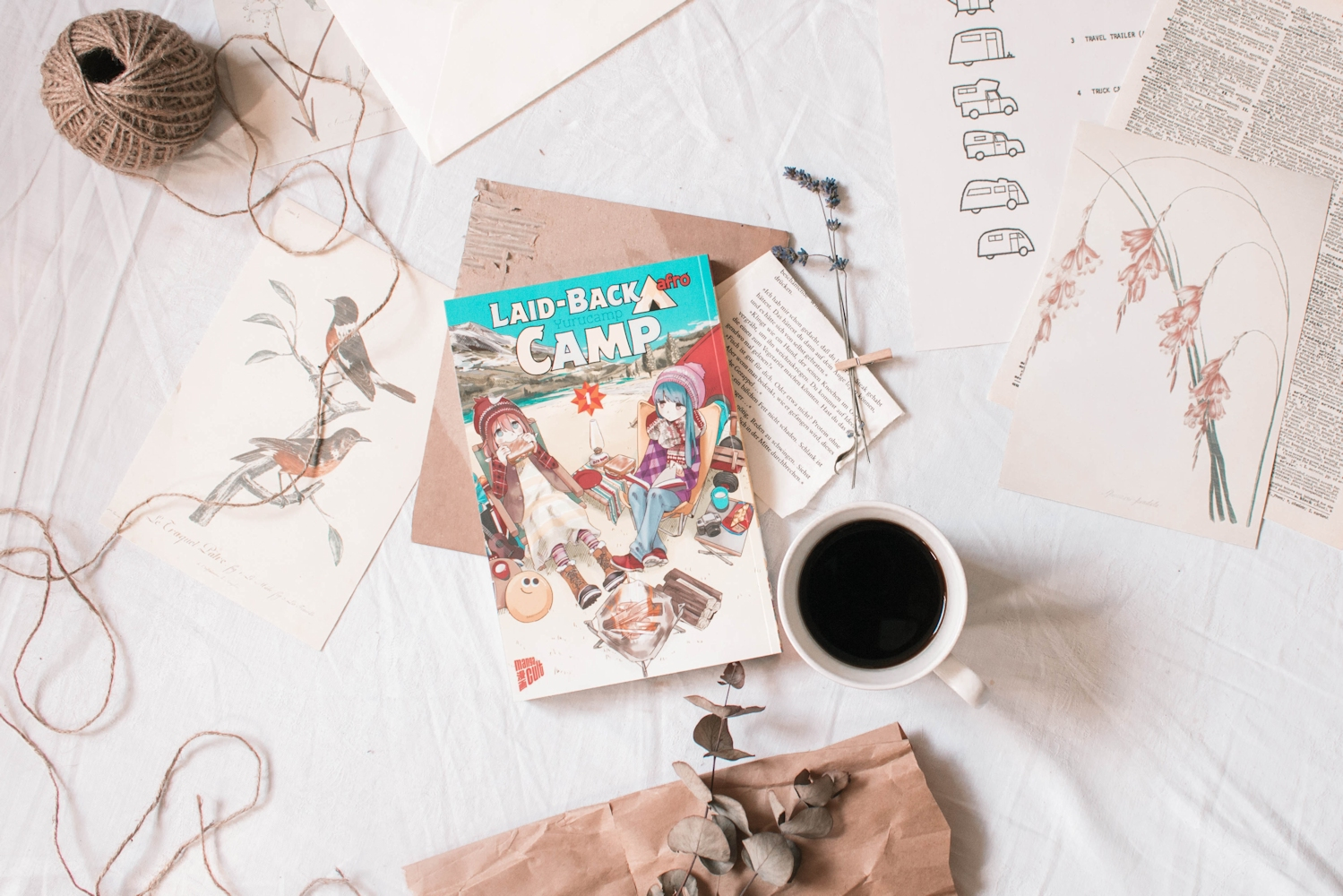 Rezension Laid-Back Camp Band 1