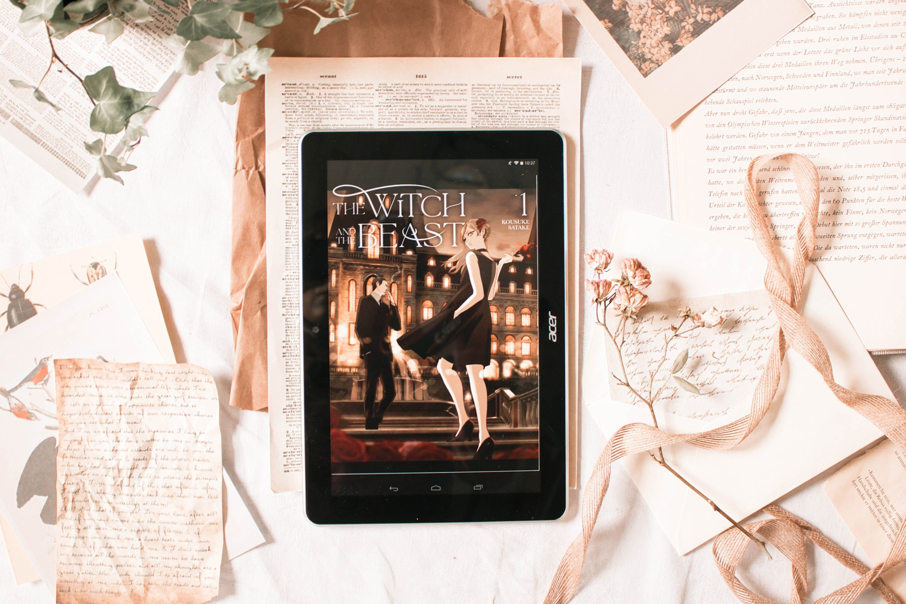 Rezension: The Witch and the Beast (Band 1)